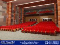 Konferans Salonu Kumaş Panel Kaplama