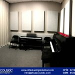 Müzik Odası Kumaş Panel Uygulaması