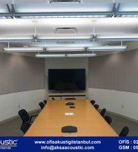 Telekonferans Odası Akustik Panel Uygulaması