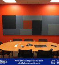 Telekonferans Odası Kumaş Kaplı Panel Uygulaması
