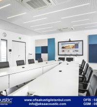 Telekonferans Odası Kumaş Panel Uygulaması